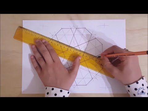 Nora Youssef Youtube Geometric Drawing Geometric Pattern Geometric