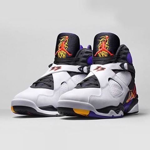 """What's your thoughts on the Air Jordan 8 Retro Three Times A Charm? #sneakers #sneakerhead #igsneakercommunity #sneakeraddict #fashion #fashionblogger #trainers #basketball #23 #mj #jumpman #michaeljordan #men #women #fitness #workout #gym #retro #lik #likeforfollow #likeforlike #like4like #likeback #lik"" Photo taken by @millionaireshoppinggroup on Instagram, pinned via the InstaPin iOS App! http://www.instapinapp.com (10/21/2015)"