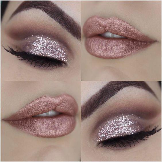 Maquiagem Gold Rose