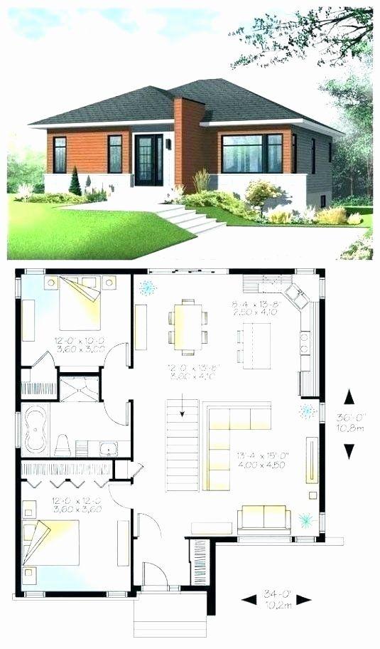 Contemporary Bungalow House Plans Inspirational Bungalow Moderne Zeitgenossische Europai In 2020 Modern Bungalow House Plans Bungalow House Design Bungalow House Plans