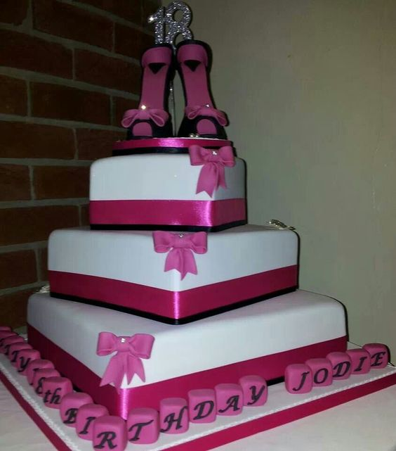 Special 18th Birthday Cake For Jodie