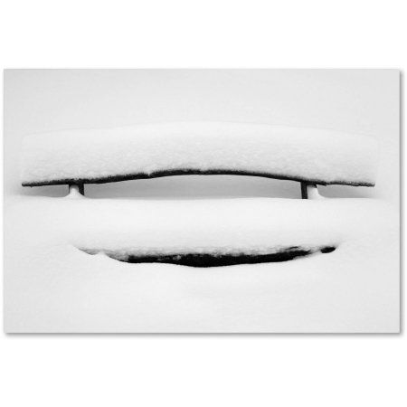 Trademark Fine Art Waiting Here Canvas Art by Philippe Sainte-Laudy, Size: 30 x 47, White