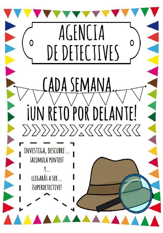 Agencia De Detectives Proyectos Educacion Infantil Actividades De Enseñanza Asamblea Educacion Infantil