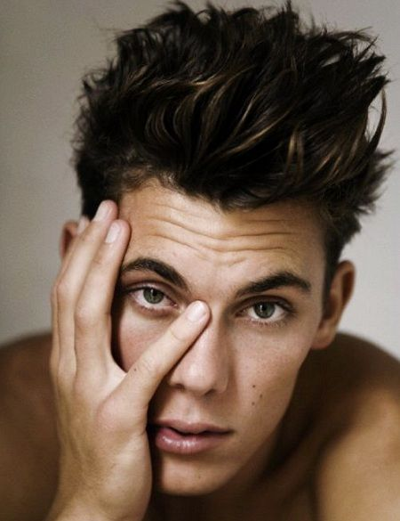 Super Messy Hairstyles Hairstyles Men And For Men On Pinterest Hairstyle Inspiration Daily Dogsangcom