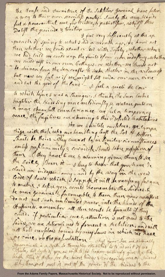 John adams essay