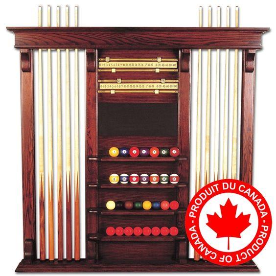 Palason Windsor Combo Pool Cue Rack Acc Billiard Cue