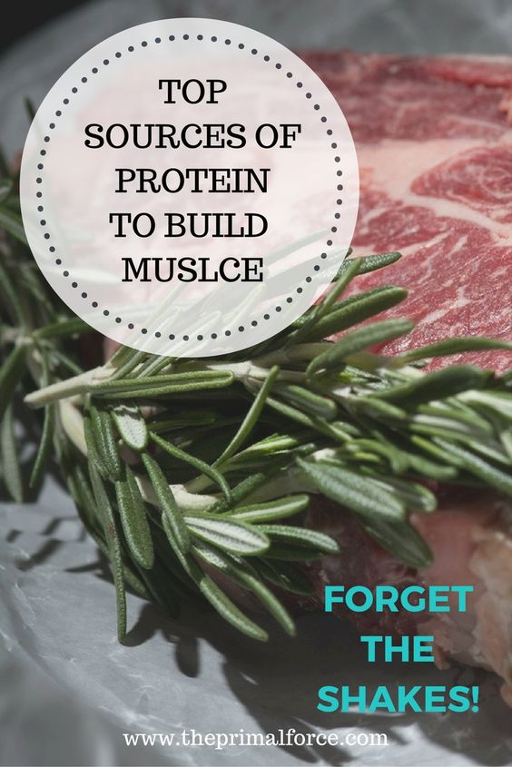 How can you build muscle by eating real, healthy foods? Forget about spending money on protein shakes. Learn more about the best protein sources.