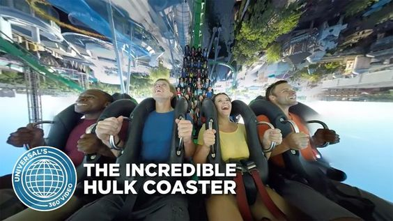 I love this coaster! Incredible Hulk coaster at Universal Islands of Adventure, Orlando Florida.
