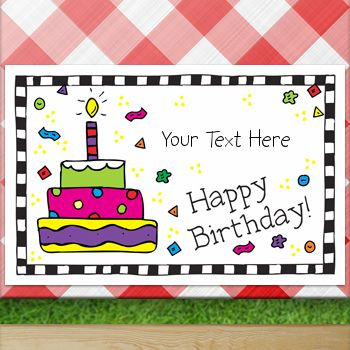 Custom Placemat...fun gift that can be used year after year!
