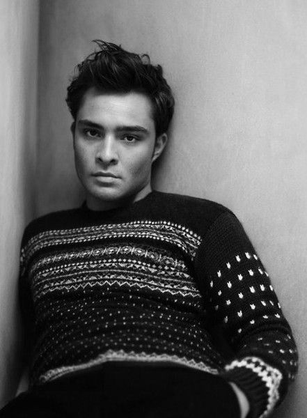 mmm... Ed Westwick :) I am mildly obsessed with him!