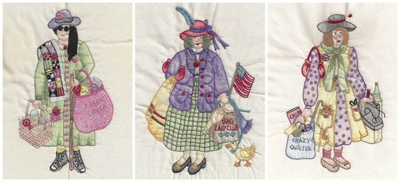 Cat Patches: Great Giveaway: Launching The Bag Ladies of the Fat Quarter Club Stitch-Along: