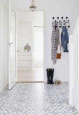 les carreaux de ciment d corent les int rieurs google recherche et entr es. Black Bedroom Furniture Sets. Home Design Ideas