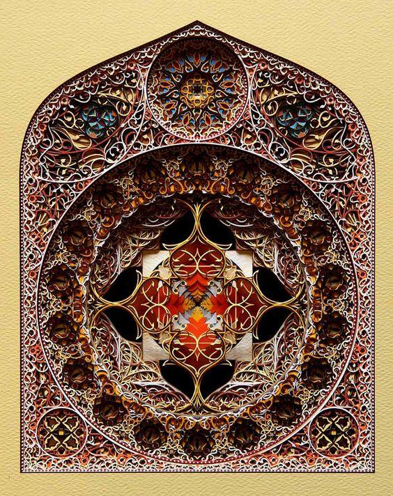 Mira Estas Hermosas Imágenes De Arte Con Papeles Cortados Con Láser