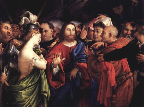 How Jesus Teaches Us With The Adulteress - A Lesson in Humility and Forgiveness