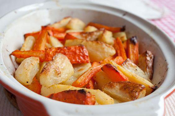 Pečeni paštrnak i šargarepa - Kuvarancije