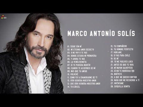 Marco Antonio Solís Sus Mejores éxitos Marco Antonio Solís 30 Grandes éxitos Enganchados Youtube Musica Ranchera Musica Romantica Musica Variada