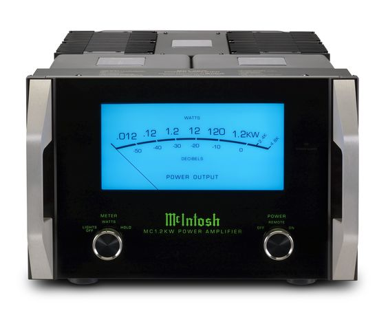The Most Powerful Single Chassis Mcintosh Monoblock Amplifier The Mc1 2kw Produces An Impressive 1 200 Watts Thanks To Our Mcintosh Audio Mcintosh Amplifier