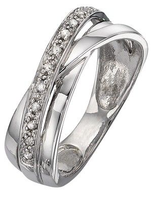 9 Carat White Gold 8 Point Diamond Crossover Band Ring, http://www.littlewoodsireland.ie/9-carat-white-gold-8-point-diamond-crossover-band-ring/1127831820.prd