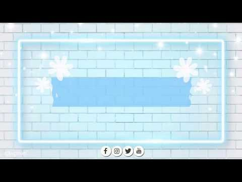 Free Intro Template No Text Cute Template For Blue Lover Cute Intros Youtube Intro Youtube Anime Wallpaper Live Youtube Banner Backgrounds