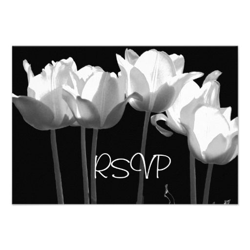 Tulips, B RSVP Cards ~ 25 SOLD!
