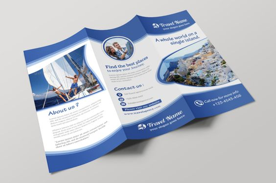 21 best 25+ Travel Brochure Template PSD, AI and InDesign Format - travel brochure templates