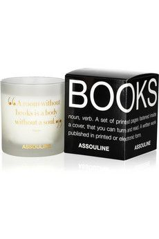 a candel that smells like books ... can it be