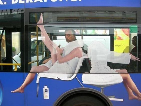 awesome: Funny Things, Funny Pictures, Bus Advertisement, Funny Stuff, Nice Legs