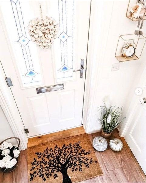 Country Home Tree Of Life Doormat Country Door Mats Personalized Door Mats Door Mat