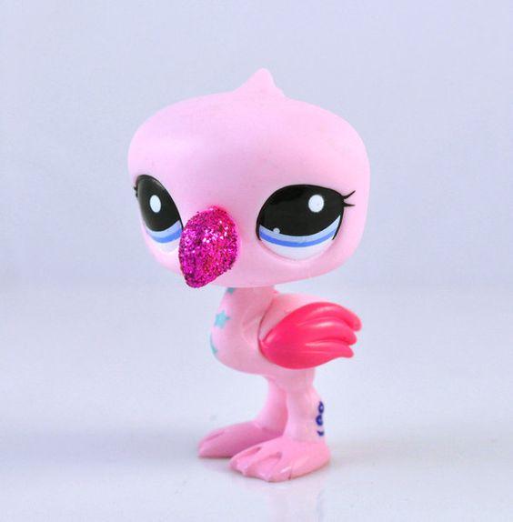 littlest pet shop flamingo Pets and Popcorn Pinterest