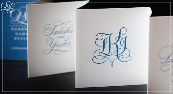 Deborah Nadel. Custom invitations and hand lettering from Deborah Nadel.