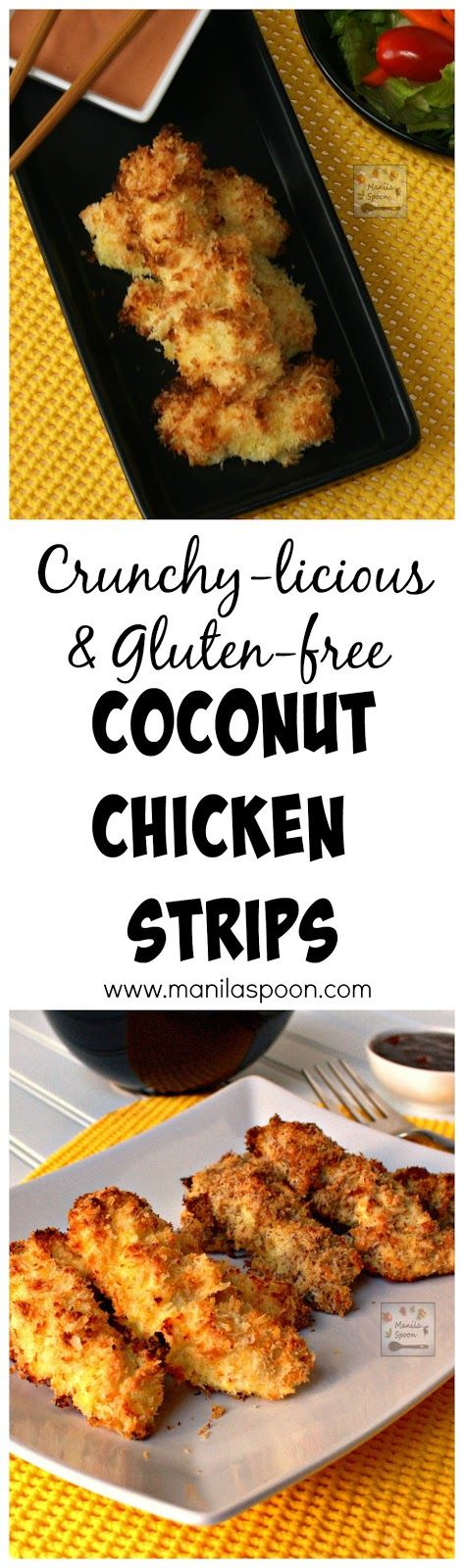 chicken gluten free healthy freeze chicken strips alternative fried ...