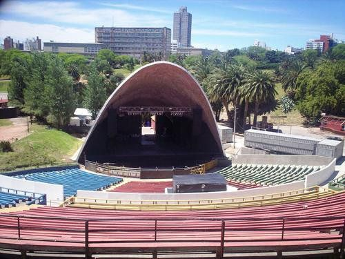 """Teatro de Verano """"Ramón Collazo"""",  Parque Rodó, Montevideo, Uruguay."""