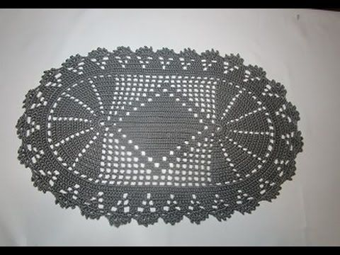 Crochet Uncinetto Centrino o Tappeto - YouTube
