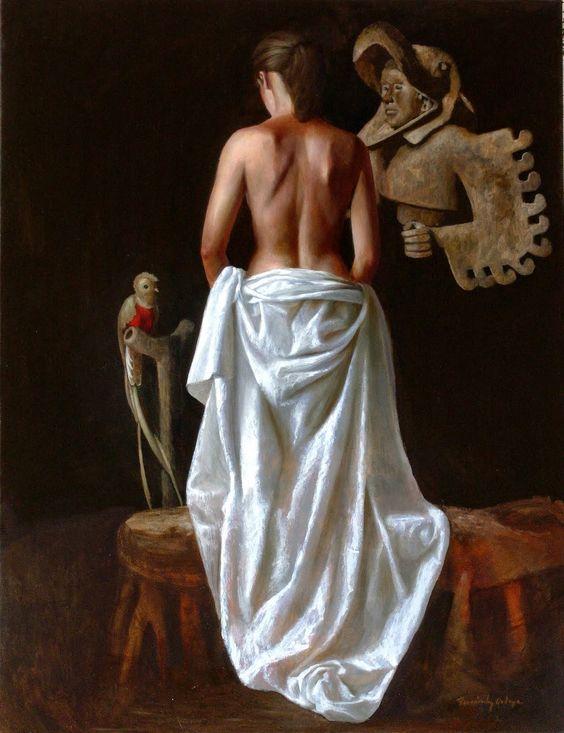 Artist: Ricardo Fernández Ortega #figurative #painting
