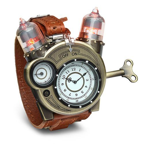 Tesla Watch Think Geek Science Watches Steampunk Watch Steampunk Accessories Steampunk Fashion