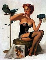 i want to be a pin up doll.