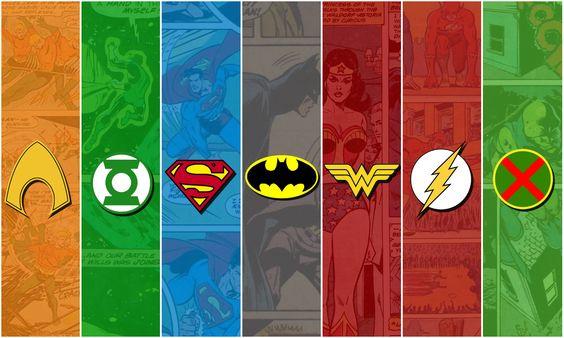 Comics Liga De La Justicia Fondo de Pantalla