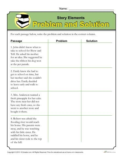 Problem and solution essay and lesson