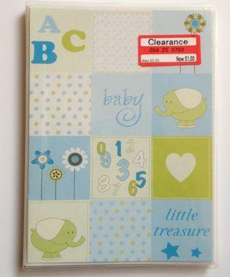 auto baby book
