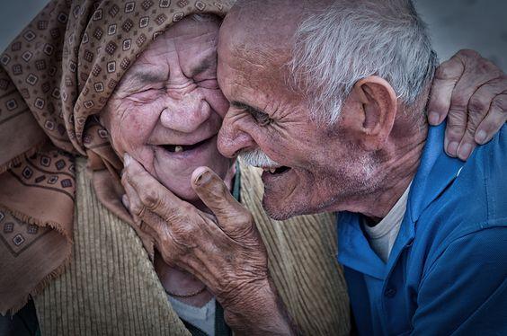 Sharing a good laugh