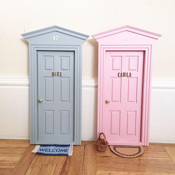 Ideas para la llegada del rat n p rez puertas cajas para for Puertas ratoncito perez baratas