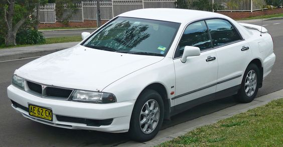 1999-2000 Mitsubishi TH Magna Advance sedan 03 - Mitsubishi Magna - Wikipedia, the free encyclopedia