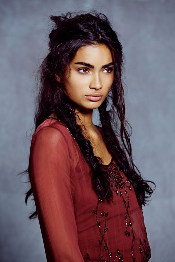 Kelly Gale,( East Indian mother & Australian father )model from Sweden