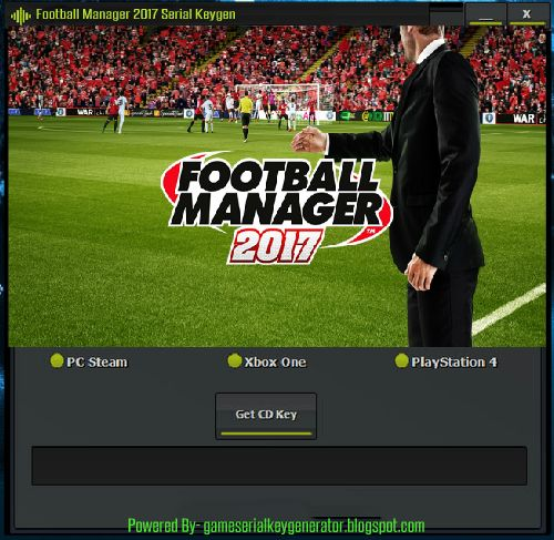 football manager activation key 2017