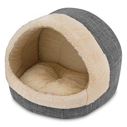 Cozy Cat Cave Best Pet Supplies 17 X15 X14 Grey Best P Https Smile Amazon Com Dp B0774ym6fx Ref Cm Sw R Pi Dp U X Ftkecba Cat Cave Cat Bed Pet Supplies