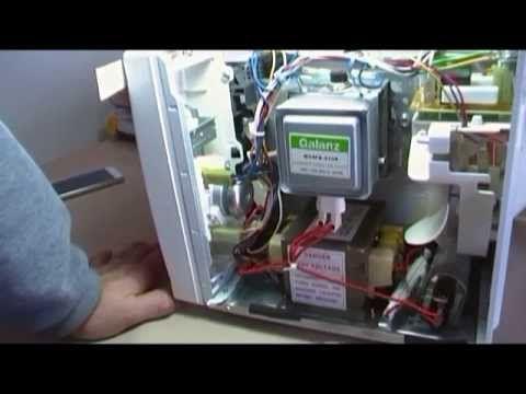 Como Reparar Un Microondas Que No Ensiende Y No Calienta Amana Comercial Youtu Electricidad Y Electronica Aprender Electronica Diagrama De Circuito Eléctrico