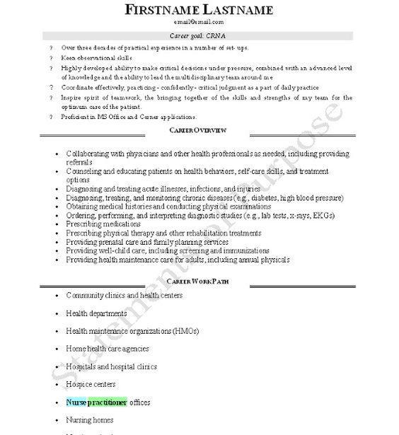 Happy CRNA Week! Anesthesia Pinterest   Crna Resume Inside Crna Resume