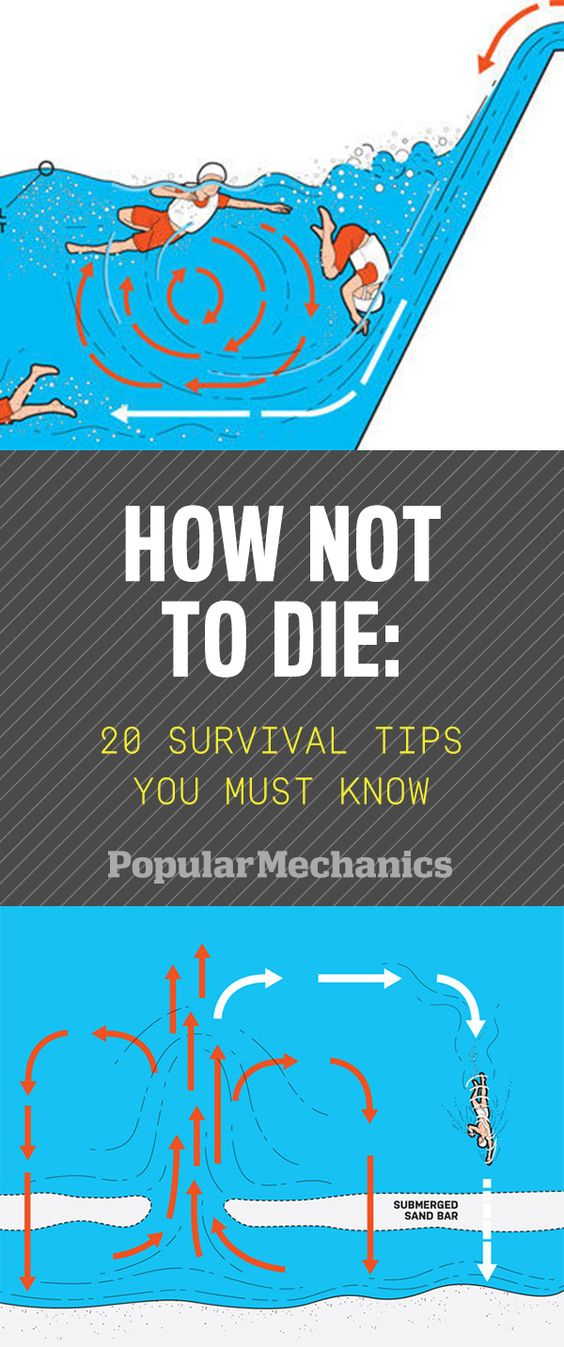 20 Survival Tips You Must Know Survival, Shark attacks