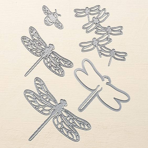 The Detailed Dragonfly Thinlits Dies are one of My Favorite Things from the Stampin' Up! 2017 Occasions catalog.  For more details about this product and to shop, visit: http://www.stampinup.com/ECWeb/ProductDetails.aspx?productID=142749&dbwsdemoid=2026178: