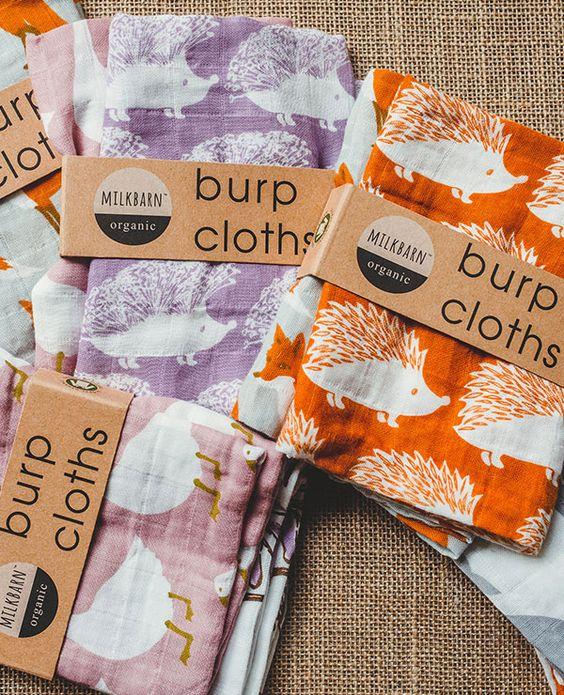 Bundle of Burpies- Milk Barn (formerly Zebi Baby) products ...